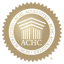 Accredited by The Accreditation Commission for Health Care, Inc.